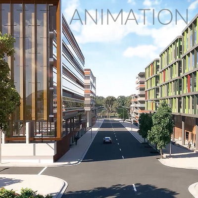 3D Architectural Animation Videos and Artist Impressions