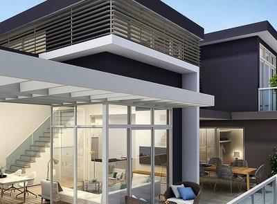 3D Architectural Exterior Artist Impressions