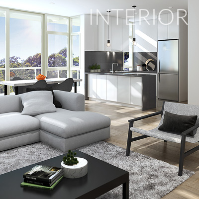 3D Architectural Residential Interior Artist Impressions